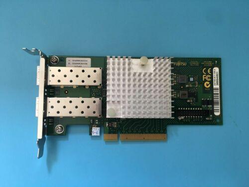 Low Profile Fujitsu  S26361 D2755-A11 GS2 Eth Ctrl 2x10Gbit PCIe x8 =X520-DA2