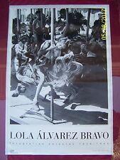 LOLA ALVAREZ BRAVO: Fotografias Selectas-1992 Centro Cultural/Arte Contem-Poster