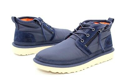 a382694b14f UGG For Men Boots Neumel MLT Zip Textile Unlined Navy Chukka US Size ...