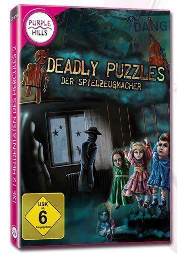 Deadly Puzzles - Der Spielzeugmacher   (Purple Hills)   PC   !!!!! NEU+OVP !!!!!