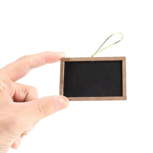 "12 Mini Small Chalkboards 2/"" x 3/"" For Wedding Cards Party Favors Menu /& Crafts"