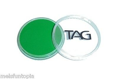 TAG Body Art 32g Regular Medium Green Professional Face and Body Paint - Make up