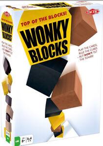 Adroit Tactic Jeu Wonky Blocs Jeu Entièrement Neuf Dans Sa Boîte-afficher Le Titre D'origine
