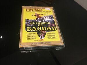 Il Ladro De Baghdad DVD Steve Reeves Sigillata Nuovo