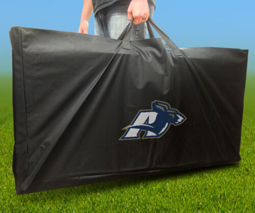 AKRON ZIPS Licensed CORNHOLE Board CARRYING CASE Storage Carry Bag
