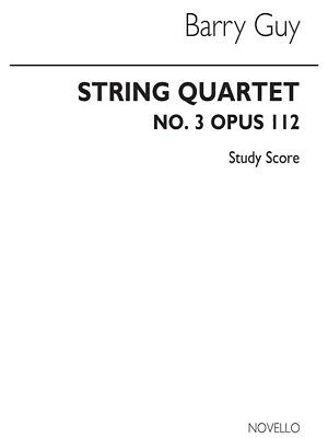 Guy Musical Instruments String Quartet No.3 Study Score String Quartet Present Sheet Music Book Firm In Structure String