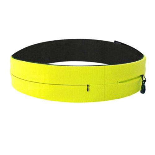 Soft Sport Running Belt Pouch Travel Money Camping Multi Pockets Fanny Pack