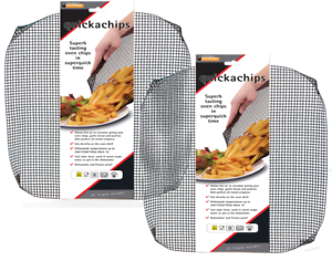 Kitchen, Dining & Bar Toastabags Quickachips Tray For Perfect Golden Oven Chips