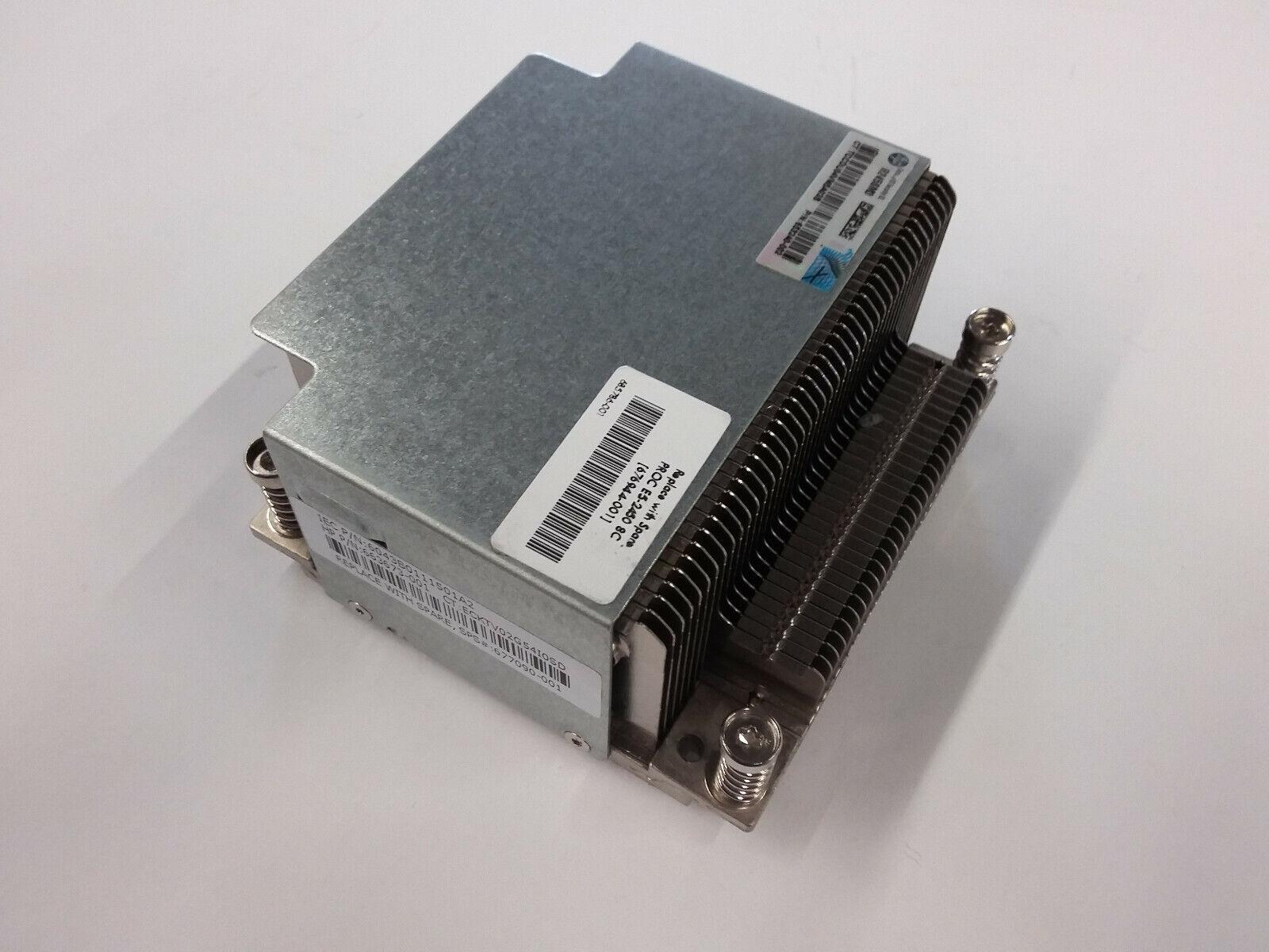 HP Proliant DL380E G8 Heatsink 677090-001 663673-001