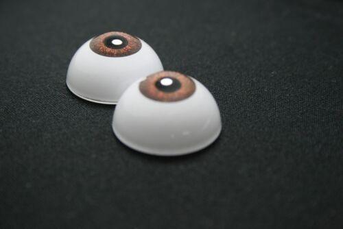 Eyes for doll 16 mm grey reborn ooak bjd Dollfie craft nancy
