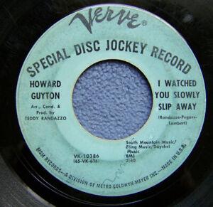Howard Guyton..I Watched You Slowly Slip Away..Northern Soul DJ Promo 45 rpm '66