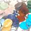 miniature 1 - NEW 20 x Gemstone Keyrings Chakra Reiki Healing Quartz Jade etc WHOLESALE