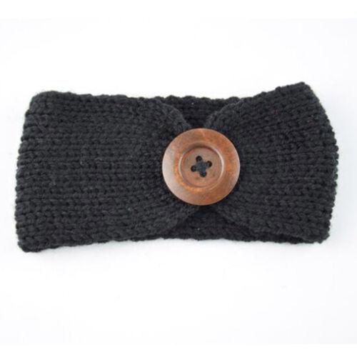 Baby Girls Kids Toddler Bow Hairband Headband Stretch Turban Knot Head Wrap #Y