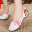 Chinese-Embroidered-Floral-Shoes-Women-Ballerina-Flat-Ballet-Cotton-Loafer-snug thumbnail 7