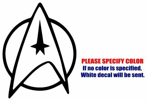 "Star Trek Starfleet #2 Funny Vinyl Decal Car Sticker Window bumper laptop 7/"""