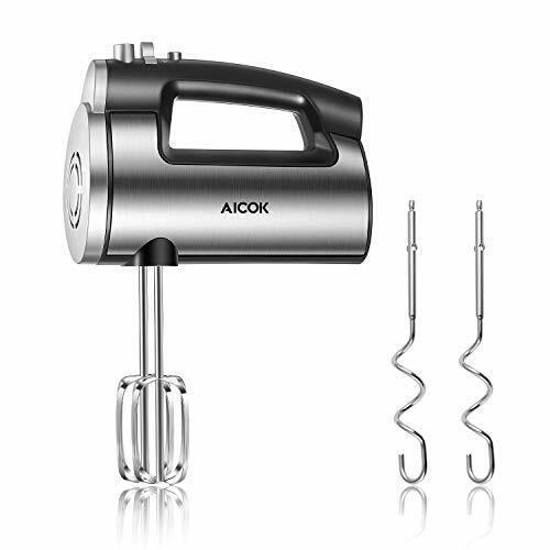 AICOK Hand Mixer Electric 6 Speed Powerful Handheld Mixer (Peak Power 300 W)