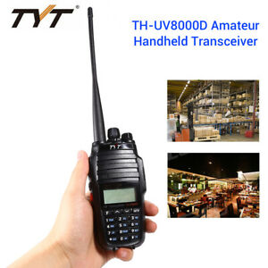 TYT-TH-UV8000D-Long-Range-Dual-Band-Two-Way-FM-Amateur-Radio-Comunicador-3600mAh