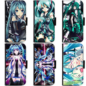PIN-1-Anime-Vocaloid-Collection-Phone-Wallet-Flip-Case-Cover-A-for-Samsung