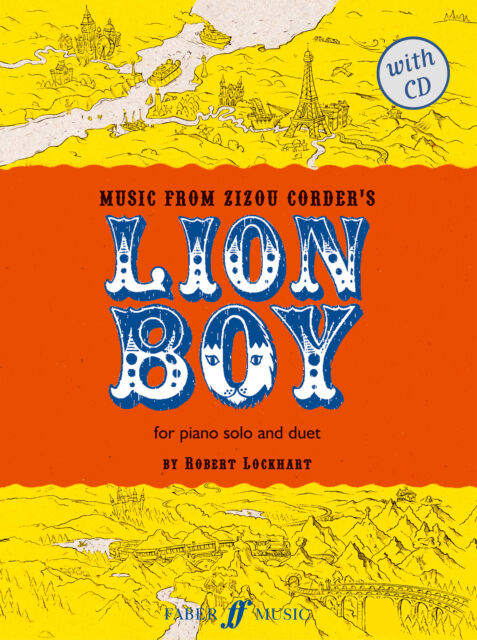Lion Boy (piano/CD) 0571523161 Piano Book with CD Faber Music