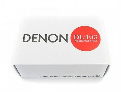 DENON DL-103 MOVING COIL MC PHONO CARTRIDGE WITH EQUAL L/R OUTPUT DL103