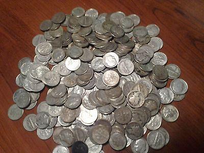 Junk Silver Coins ALL 90/%Silver 1964 1//4 POUND LB BAG ALL DIMES U.S Previous