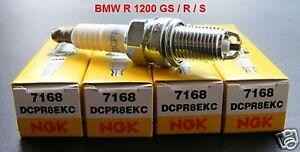 4 pezzi-CANDELE NGK DCPR 8ekc BMW R 1200 GS/R/S, 7168, SPARK PLUGS