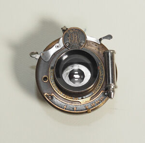 Bausch-amp-Lomb-Kodak-Rapid-Rectilinear-Lens-For-Folding-Cameras-1910