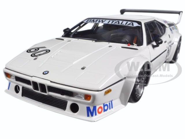 BMW M1 ITALIA WINNER PRO CAR ZOLDER 1979  18 MODEL BY MINICHAMPS 180792961