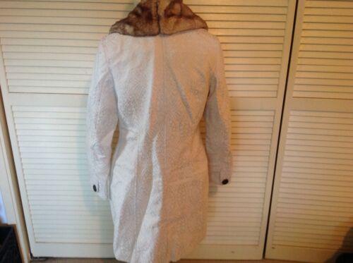 Euc Faux Vintage Fur Merona M Hvid Styled Collar rqrZp