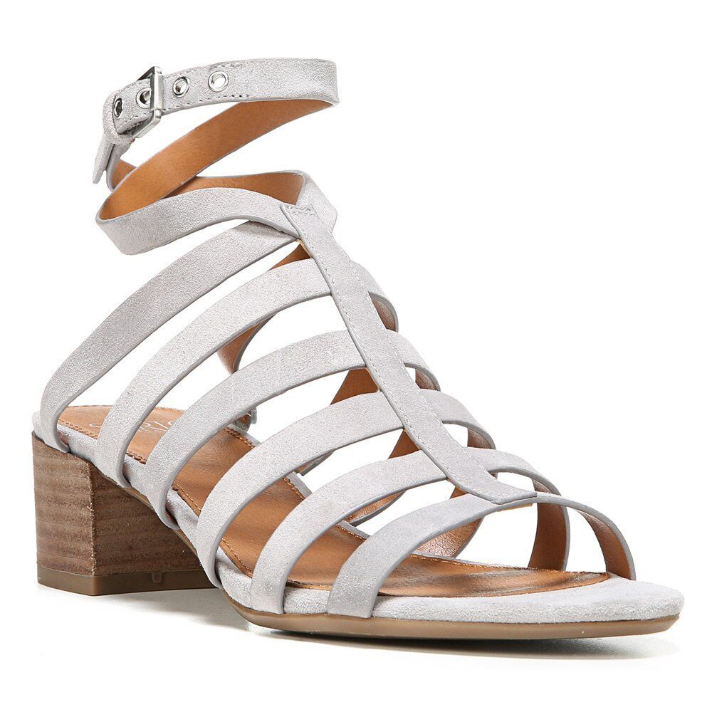 New Franco Sarto Finesse Cage Sandal Leather Women shoes