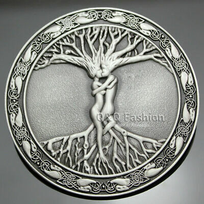NEW TREE OF LIFE BELT BUCKLE Pagan Wicca Gothic