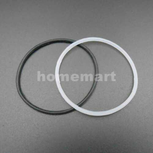 2MM 50MM Silicone Rubber Power Transmission Belts Pulley Drive Belt 2X50MM White