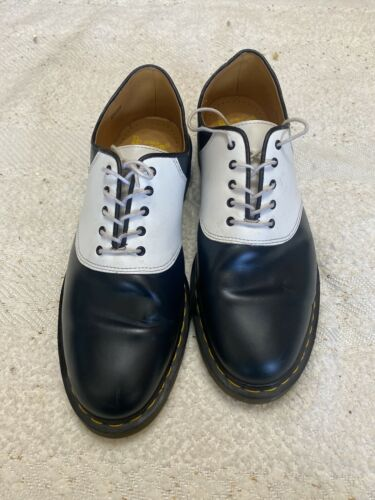 Dr Doc Martins Air Wair Navy And White Mens Size … - image 1
