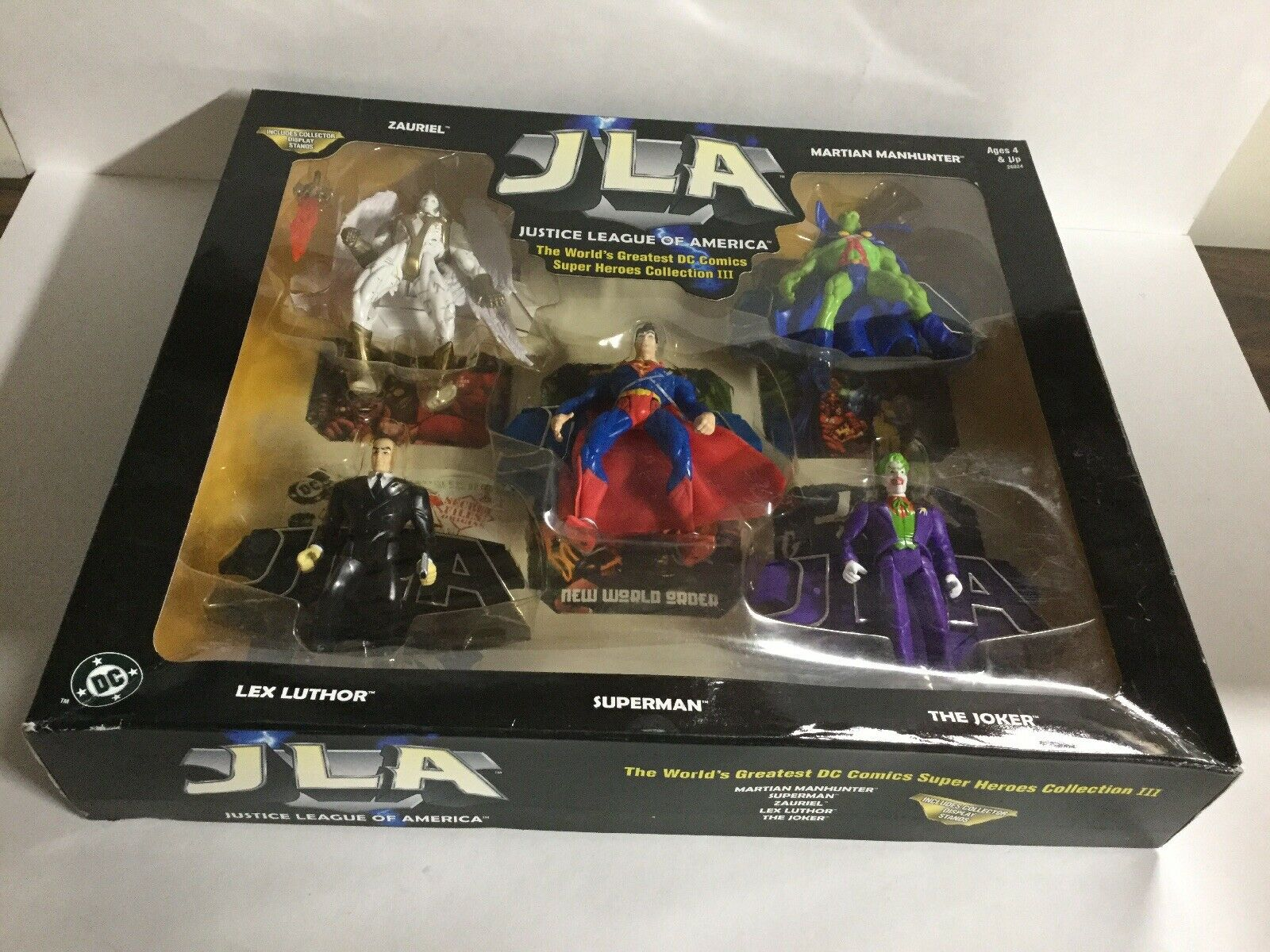 JLA Justice League Of America Super Heroes Collection III Sealed Hasbro