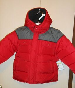 cdffb39ca534 Old Navy Toddler Boys Frost Free Detachable Hood Winter Jacket Red ...