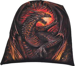99934441f Spiral Direct DRAGON FURNACE Beanie Beanies/Dragon/Flames/Wings/Rock ...