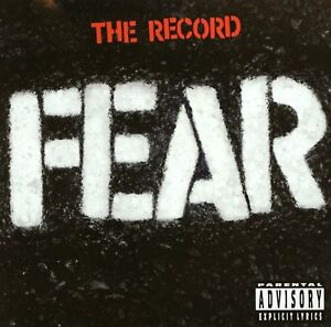 NEW-CD-Album-Fear-The-Record-Mini-LP-Style-Card-Case-punk