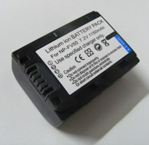 Batería Para Sony Hdr-cx130 Hdr-cx160 Hdr-cx190 hdrcx190//b videocámara Handycam