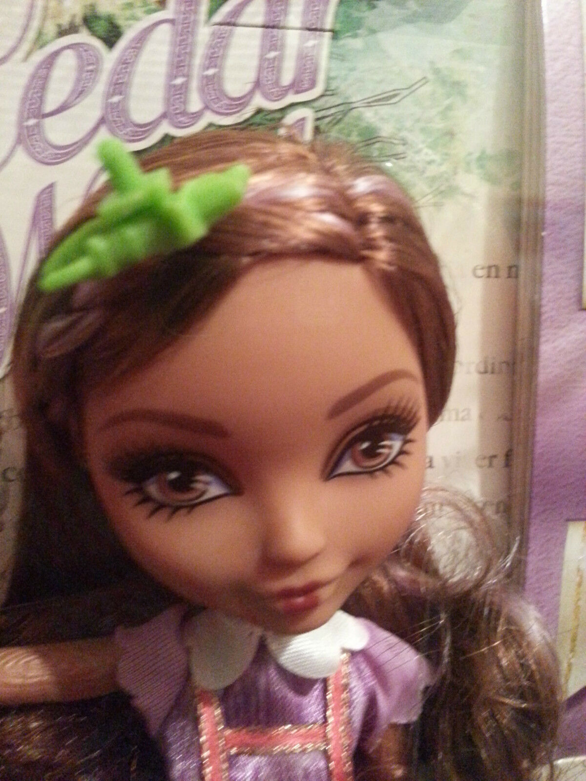EVER AFTER HIGH REBEL CEDAR WOOD  DOLL WITH braun  schuhe (RARE) - BNIB
