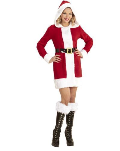 Cappotto Miss Babba PS 24835 Costume Babbo Natale Donna