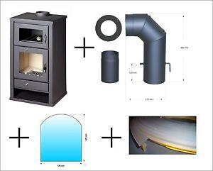 kaminofen deluxe f mit backfach von st ad 11 3 kw f r holz und kohle geeignet ebay. Black Bedroom Furniture Sets. Home Design Ideas