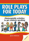 DBE: Role Plays for Today: Photocopiable Activities to Get Students Speaking by Jason Anderson (Paperback, 2006)