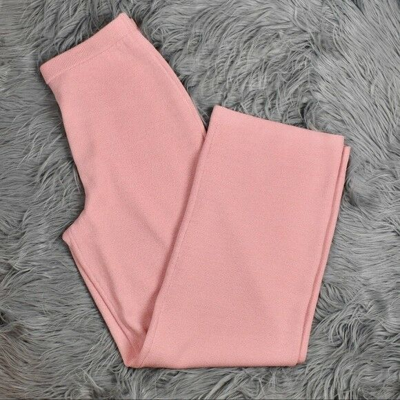 ST. JOHN COLLECTION Santana Knit Stove-Cut Pants - Sz M