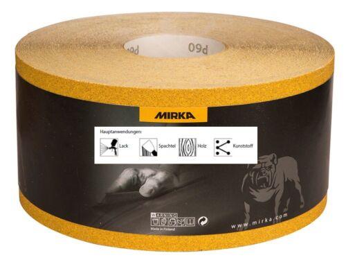 Mirka Gold Schleifrollen Schleifpapier 115 mm x 50 m Korn 80