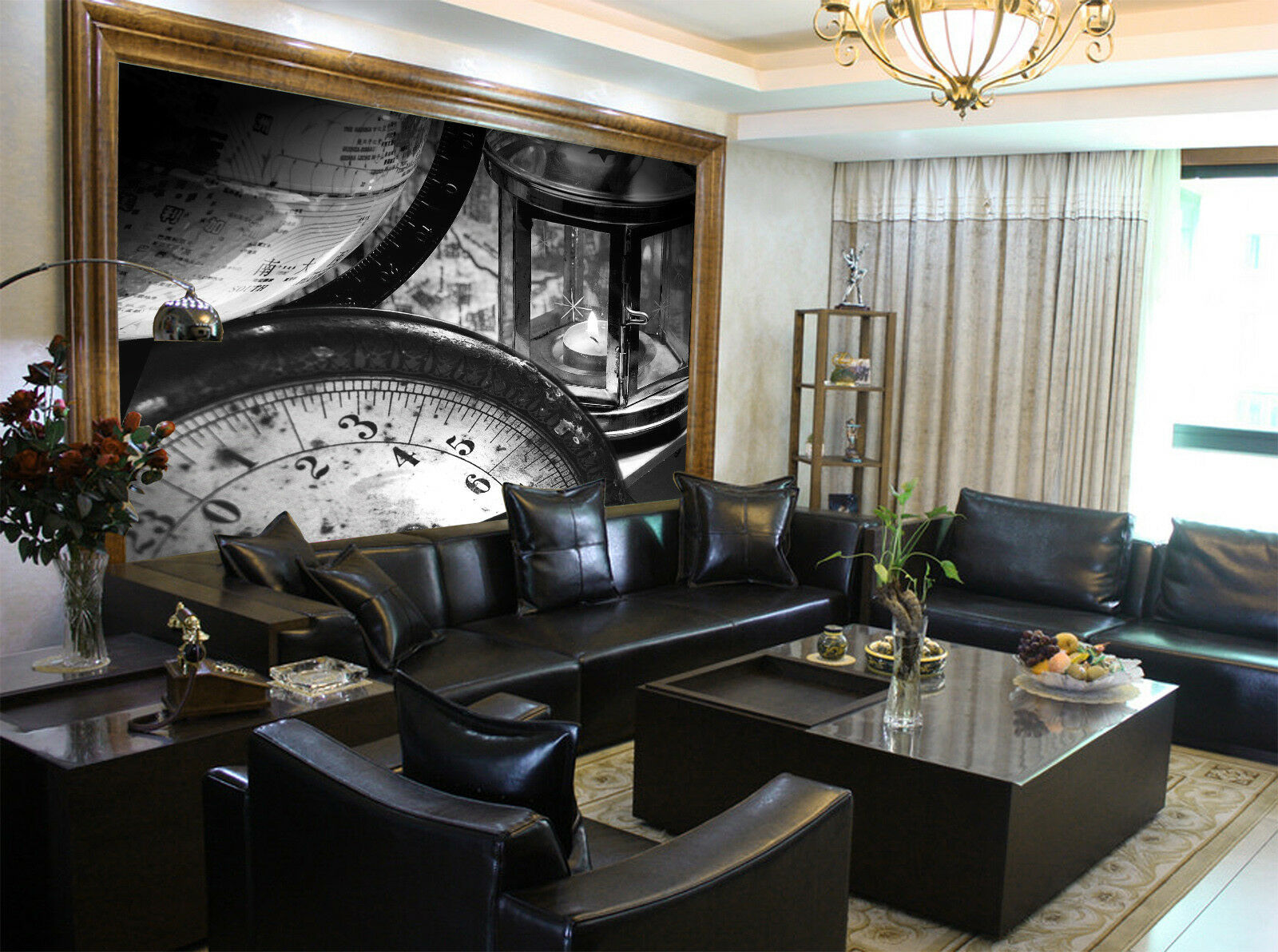 3D Kerzenlicht Timer Timer Timer 85 Tapete Wandgemälde Tapete Tapeten Bild Familie DE Summer | Reichhaltiges Design  |  762044