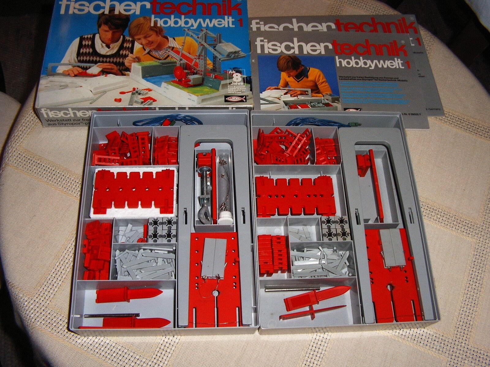 Fischertechnik Baukasten hobbywelt hobbywelt hobbywelt 1 x OVP mit Buch Blister 2 Stück f379e5