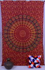 Indian Vintage Bedspread Hippie Mandala Boho Wall Hanging Psychedelic Tapestry