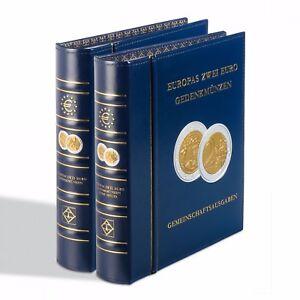 Albumes-preimpresos-OPTIMA-Tomo-I-Monedas-conmemorativas-de-2-ur-de-Europa