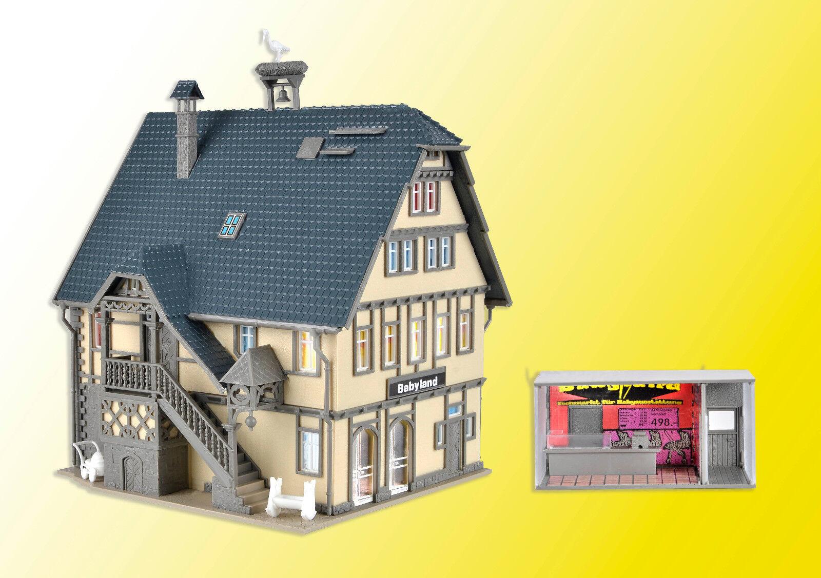 Vollmer 43661 - H0 Kit Boutique Babyland with Led Lighting -