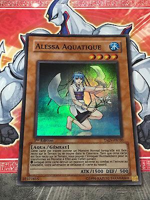 NEUF Alessa Aquatique YUGIOH = TAEV /> FR020 SUPER RARE
